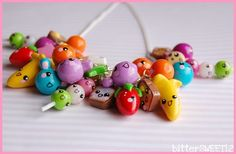 Kawaii charm necklace  available from etsy.com