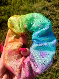 Excited to share this item from my shop: Special edition rainbow sparkle scrunchie New Dress Design Indian, Rainbow Vans, Diy Hair Scrunchies, Velvet Scrunchie, Vans Outfit, Fru Fru, Accesorios Casual, Diy For Teens, Teen Diy