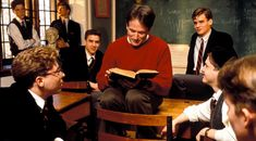 Oh Captain My Captain, Dead Poets Society, Walt Whitman, Aesthetic People, Love Deeply, Book Tv, Robin Williams, Film Serie, Old Movies