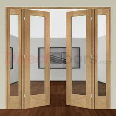 Image of Easi-Frame Oak Door Set, GOSHAP10-COEOP2, 2005mm Height, 2062mm Wide.