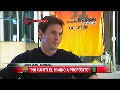 "Lionel Messi reconoció que no canta el Himno Nacional Argentino ""a propósito"" - Fútbol http://befamouss.forumfree.it/?t=71833551 #futbolargentino"