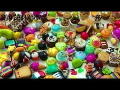POLYMER CLAY CHARM COLLECTION PT 1 - YouTube