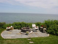 Patio, fire pit, ocean views? Yes, please.