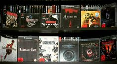 Shared by bobafettluna #playstation1 #microhobbit (o) http://ift.tt/1ToSGGC Resident Evil Games #playstation  #Playstation3 #gamecube #nintendo #nintendowii #residentevil0 #residentevil #residentevil2 #residentevil3 #residentevil4 #residentevil5 #residentevil6 #gamecollector #collector #collectible