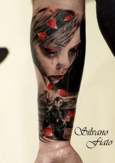 tattoo by math at self sacrifice tattoo studio in london uk