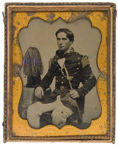 Civil War era ambrotype- South Carolina militiaman.