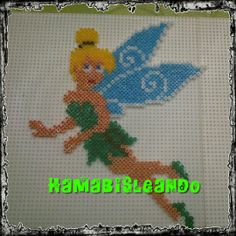 Tinker Bell hama mini beads by Graciela GG