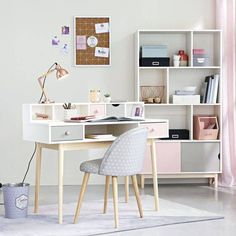 Small Home Office Design Ideas Study Room Design, Study Room Decor, Teen Room Decor, Home Office Design, Home Office Decor, Home Decor, Office Ideas, Office Setup, Office Style