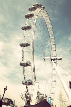 London Eye- London, England- worth the money and time! Great addition to the London skyline! Loved it!