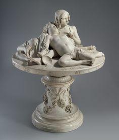 ▪The Demidoff Table. Artist: Lorenzo Bartolini (Italian, 1777–1850) Patron: Commissioned by Prince Anatole Demidov (1845–1870) Date: 1845 Culture: Italian, Florence Medium: Marble
