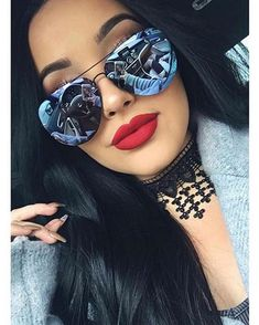 Check out super awesome products at Shire Fire! :-) OFF or more Sunglasses SALE! Quay Sunglasses, Sunnies, Mirrored Sunglasses, Sunglasses Women, Stylish Sunglasses, Fashion Eye Glasses, Women's Accessories, Eyeglasses, Eyewear