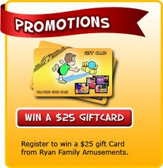 Give the gift of fun! A gift card to Ryan Family Amusements would be great for building memories and connecting as a family. Mother Day Gifts, Memories, Gift Ideas, Building, Cards, Fun, Buildings, Playing Cards, Remember This