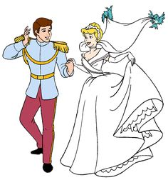 Cinderella and Prince Charming's Wedding