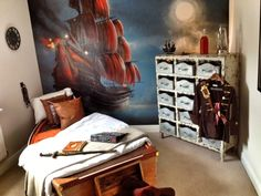 Cool Pirate Bedroom for Little Boys