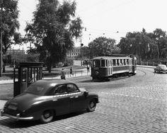 Na Klárově (357-1), Praha, 1959 • |black and white photograph, Prague|