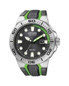 Make the most of the summer sunshine and the water with this solar powered Citizen Eco-Drive Scuba Fin Watch