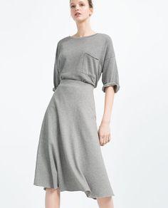 Image 2 of MID-LENGTH SKIRT from Zara