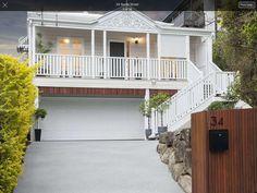 Front Verandah, Cambridge House, House On Stilts, Stair Landing, Character Home, Queenslander, Deck With Pergola, Beach Shack, Plantation Homes