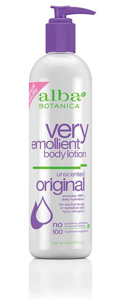 Best lotion I've ever used.  Alba Botanica® Very Emollient Body Lotion Original Unscented