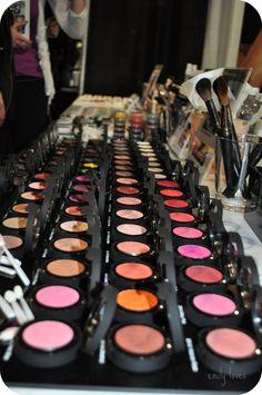 Ben nye makeup...Broadway make-up table!