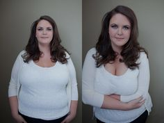 "Previous pinner wrote, ""Sue Bryce and her genius posing for beautiful women no matter what their size! Post Production slimming NOT necessary just kick that booty back bring those arms in bring that chin forward and work it Beauty is Attitude!"" Check out the link called 'Before and After' - such amazing photos!"