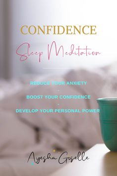 Grow your confidence while you sleep. A relaxing yet powerful guided meditation, to gently boost your confidence, reduce anxiety and develop your personal power by reprograming your subconscious mind while you drift to sleep. #Confidence #Anxiety #Selfesteem #personalpower #meditation #yoga #sleep Guided Relaxation, Relaxation Meditation, Guided Meditation, Confidence Building Activities, Building Self Confidence, Improve Self Confidence, Subconscious Mind, Self Esteem, Anxiety