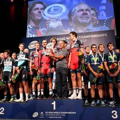 BMC repeat as team time trial World Champions - Runners-up Etixx-QuickStep finish 11 seconds down, Movistar gets bronze
