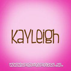 Kayleigh (Voor meer inspiratie, en unieke geboortekaartjes kijk op www.heyboyheygirl.nl)