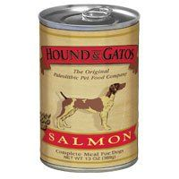 HOUND and GATOS PET FOOD Salmon Formula Canned Dog Food, 13 oz., 12-Pack *** Discover this special dog product, click the image : Dog food types