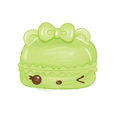 Cucumber Gloss-Up Character | Num Noms