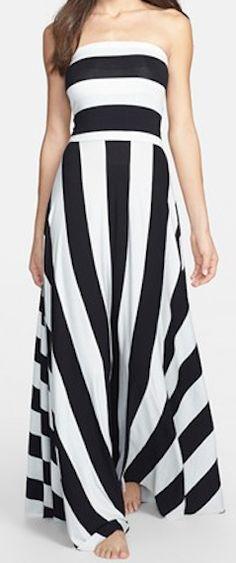 Convertible maxi dress - wear it as a dress or a skirt! http://rstyle.me/n/e2hztnyg6