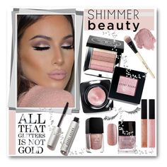 """Shimmer Beauty"" by brendariley-1 ❤ liked on Polyvore featuring beauty, Bobbi Brown Cosmetics, Anna Sui, Butter London, Formula X, Urban Decay and shimmerbeauty"