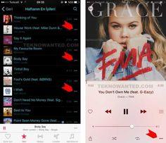 iTunes Apple iPhone Çevrimdışı müzik dinleme
