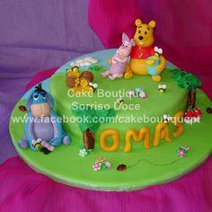 Bolo do Winnie The Pooh