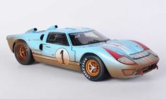 To collect or to make a gift, buy your Ford GT 40 Shelby Collectibles MkII Team Shelby American K.Miles / D. Revell Model Cars, Toy Model Cars, Diecast Model Cars, Ford Gt40, Le Mans, Vintage Race Car, Car And Driver, Car Humor, Car Wallpapers