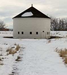 round barn.                                                          Aurora, Colorado