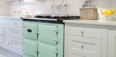 AGA Traditional Cooker Total Control 3 Ovens - AGA Total Control Cooker with 3 ovens is available in different colours call us or visit our showrooms in West Wales for more information Aga Kitchen, Kitchen Dining, Kitchen Cabinets, Kitchen Ideas, Aga Cooker, Oven Cooker, Electric Aga, Vintage Oven, Turquoise Kitchen Decor