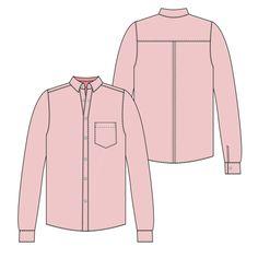 Spit Up & Stilettos Caroline shirt Sewing Patterns Free, Clothing Patterns, Sewing Tutorials, Free Sewing, Sewing Projects, Sewing Blouses, Sewing Shirts, Shirts & Tops, Pattern Library