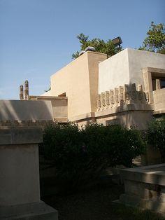 Aline Barnsdall Hollyhock House. Hollywood, California. 1919–1921. Frank Lloyd Wright