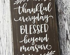 handmade wood signs & home decor by SignsbyJen on Etsy Thanksgiving Signs, Wood Signs Home Decor, Trending Outfits, Unique Jewelry, Handmade Gifts, Etsy, Fall, Kid Craft Gifts, Autumn