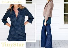 love me a tunic! this one is precious... and those jeans aren't too shabby either!