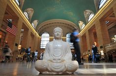 Buddha in Grand Central, limited edition photo by Kit Kittle // available through amazon.com/romanoffelements