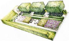 chelsea flower show laurent perrier garden 2009