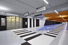 Farbiges Parkhaus in Utrecht / Herzstück - Architektur und Architekten - News / Meldungen / Nachrichten - BauNetz.de