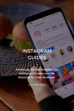 Instagram Guides: Hier erhältst eine Anleitung, wie Du Instagram Guides erstellen und für Dein Business nutzen kannst. #instagram #instagramguides Instagram Feed, Instagram Story, Social Media Marketing Business, Content Marketing, Tools, Social Media, Social Networks, Earn Money, Finance