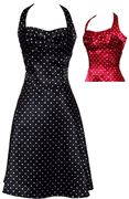 """I buy polka dot retro dresses every few years, then never wear them because they seem """"costumey"""". But damn. I love them."""