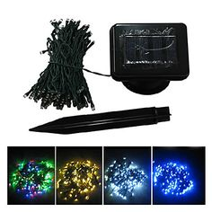 12M Colorful 100-LED String Lights Blue Corn Christmas Decoration Fairy Light (CIS-57180) http://mxpi.co.nf/?item=804086