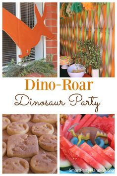 Boys are going to absolutely love a dinosaur party…