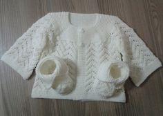 Baby Lace Cardigan - Free Pattern