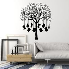 Vinyl Wall Decal Books Tree Home Library Reading Corner School Stickers Mural (ig5139)